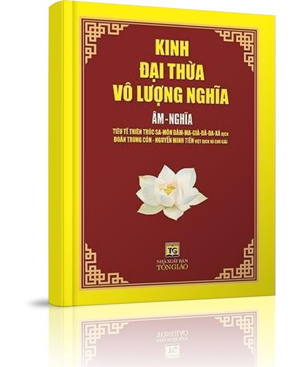 Kinh Đại Thừa Vô Lượng Nghĩa - NGHI THỨC KHAI KINH