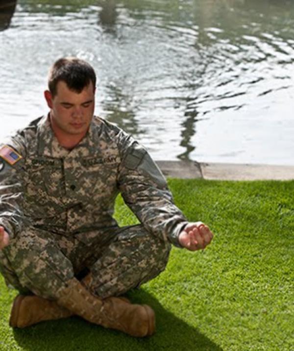 Image result for hình ảnh chiến binh tập thiền