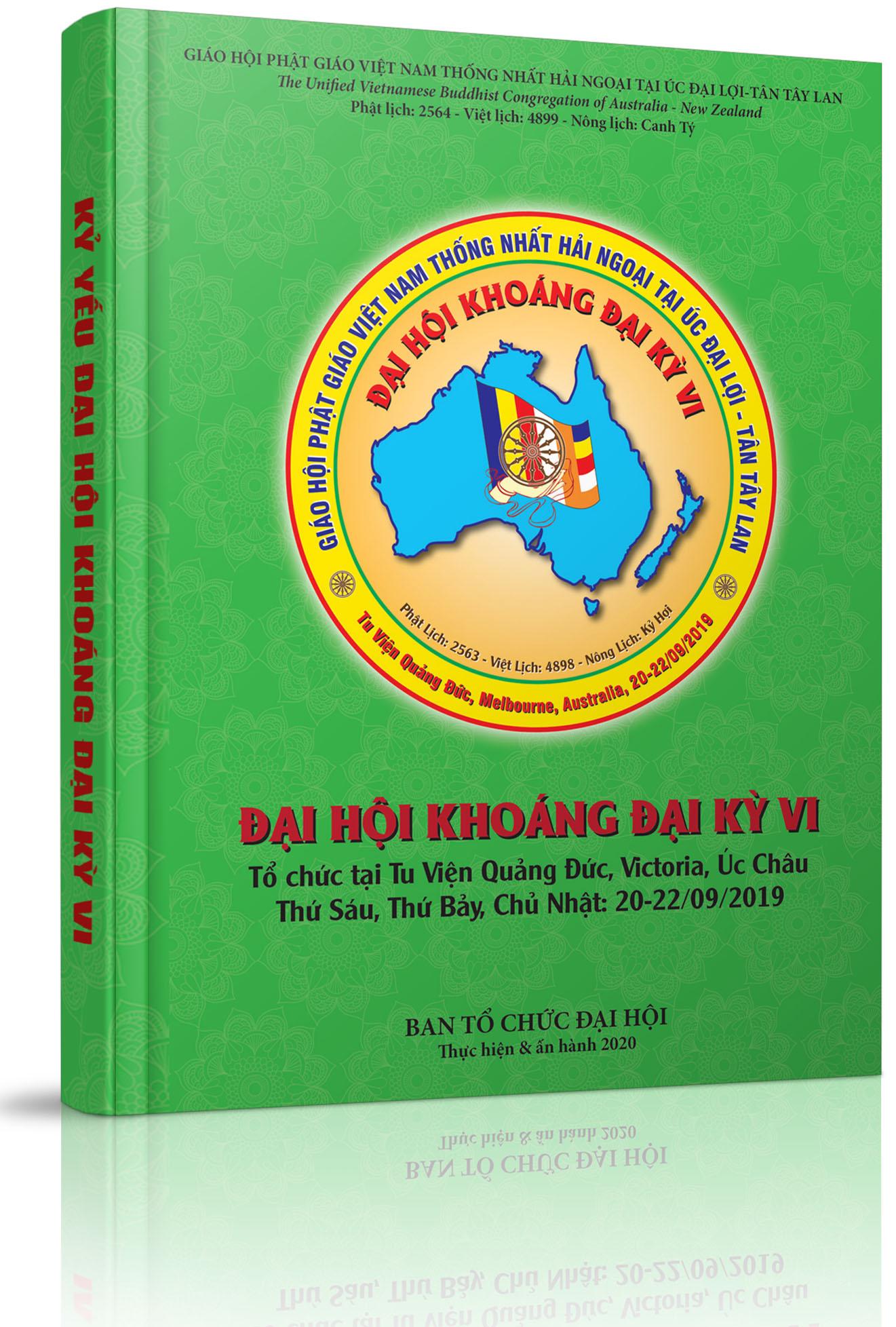 Kỷ yếu Ðại Hội Khoáng Đại kỳ 6 - GHPGVNTN Hải Ngoại tại Úc Đại Lợi - Tân Tây Lan - Giới Thiệu