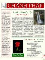 Nguyệt san Chánh Pháp số 29